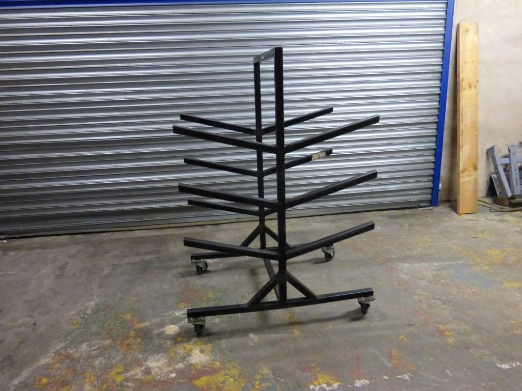 USPRT007A - Trolley Storage Rack - £25+VAT.