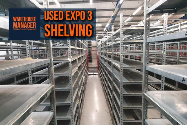 Used Expo 3 Shelving – USH044