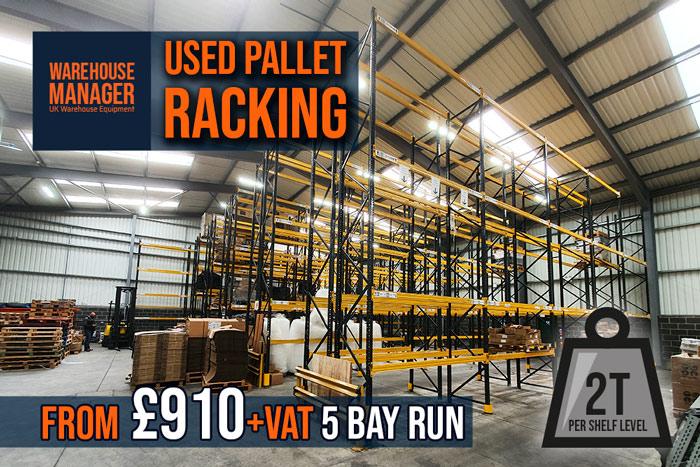 Used Nova Pallet Racking 6000mm (H) – UPR066