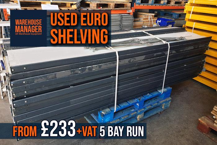 Used Link-51 Euro Shelving