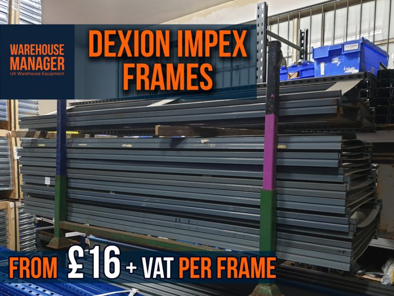 Used Dexion Impex Frames – USH035