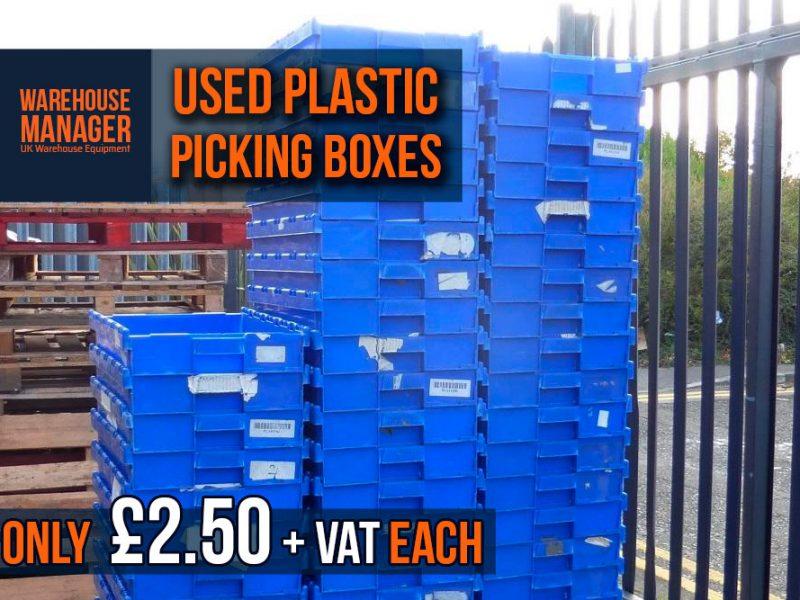 Used Plastic Picking Boxes – USPB014