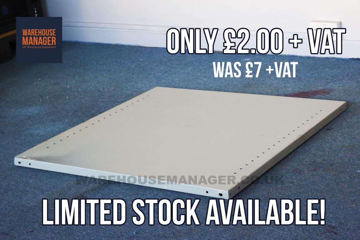 Used British Standard Shelving Panel – USH022D