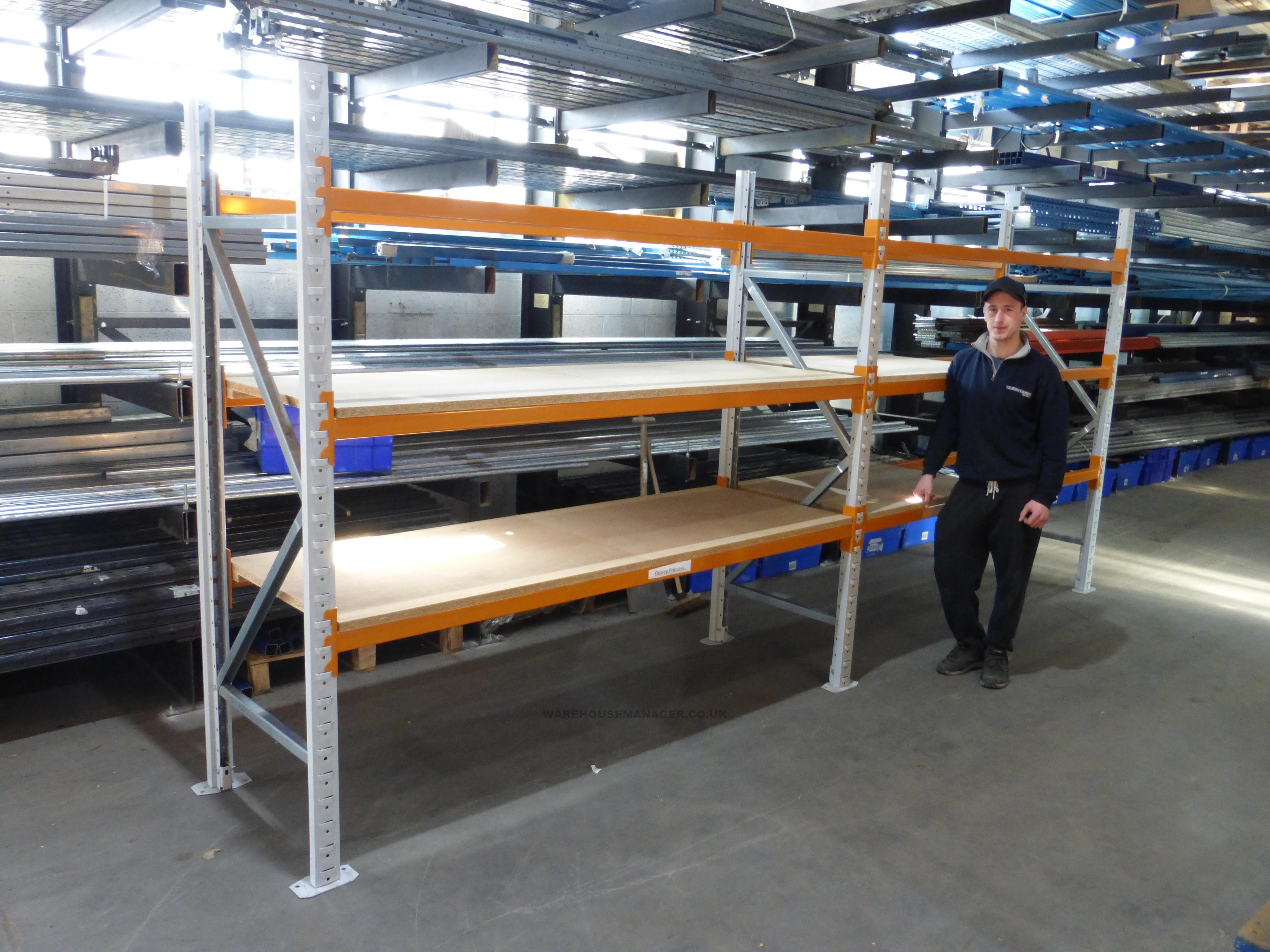 Used Apex Warehouse Longspan Racking – UPR048