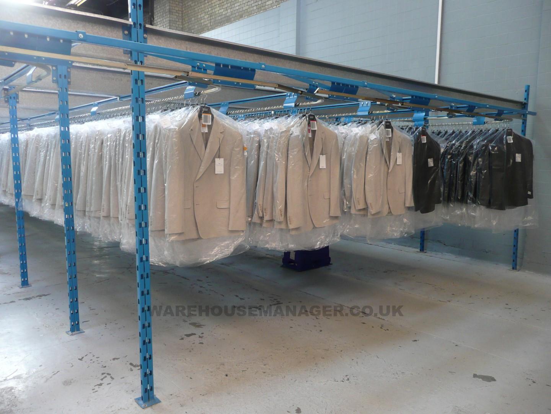Used Slickrail Garment Handling System – SL060U