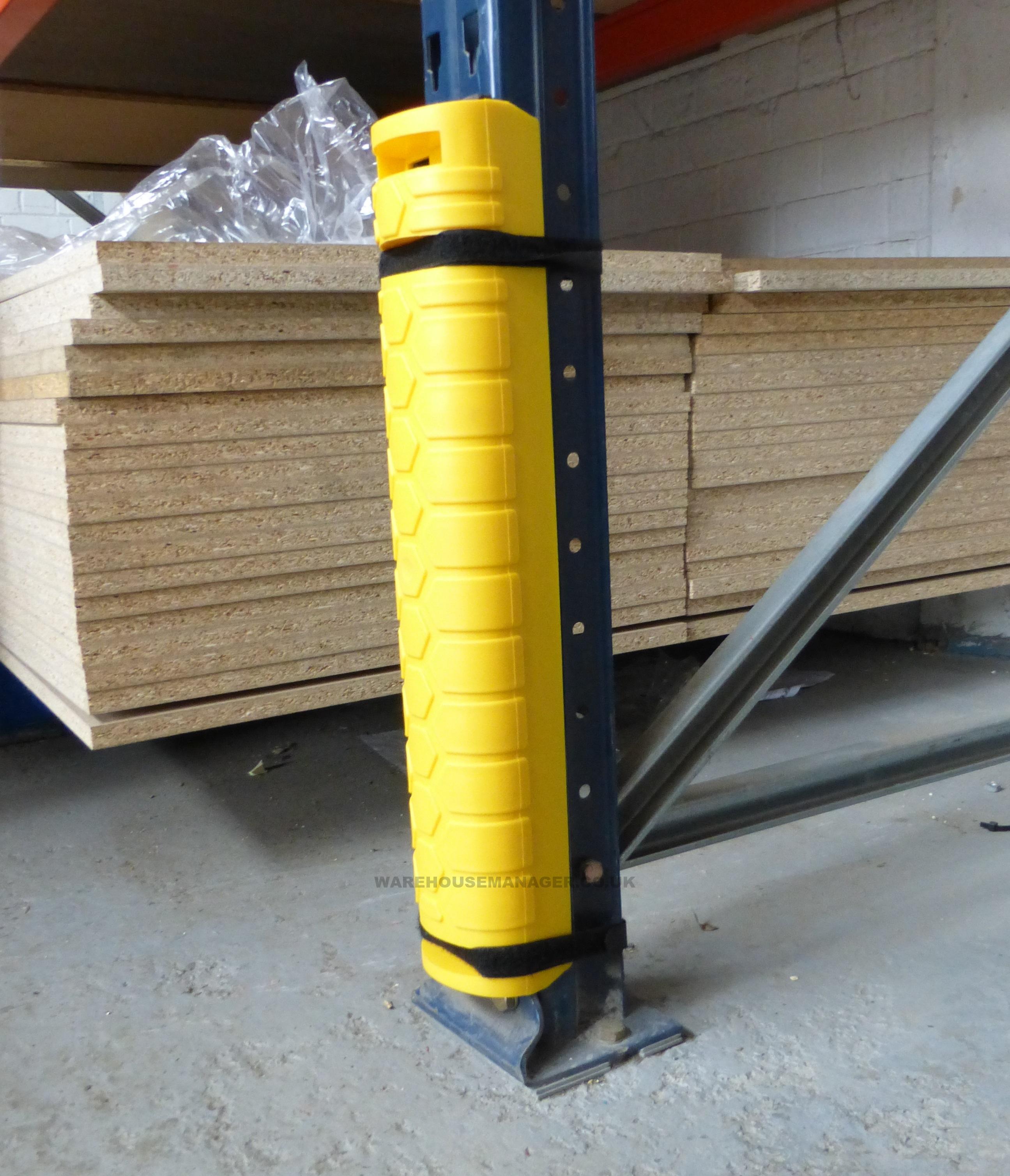 NEW – Plastic Pallet Racking Protectors – Column Guards – PRP004