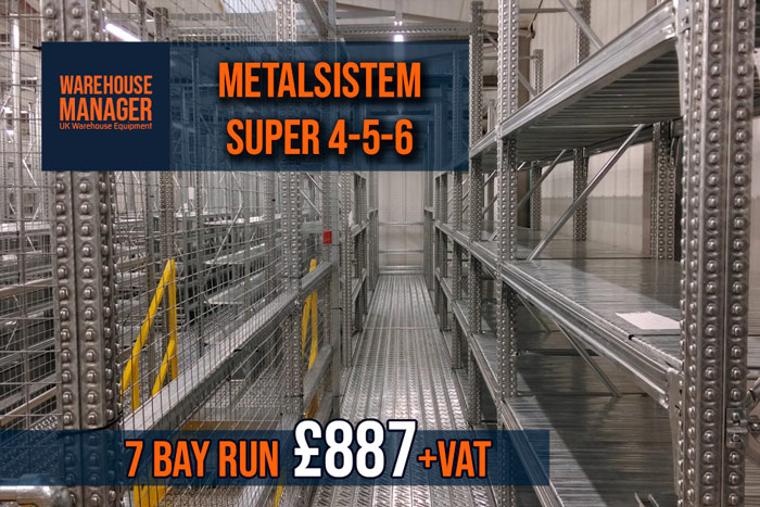 NEW Metalsistem Super 4-5-6