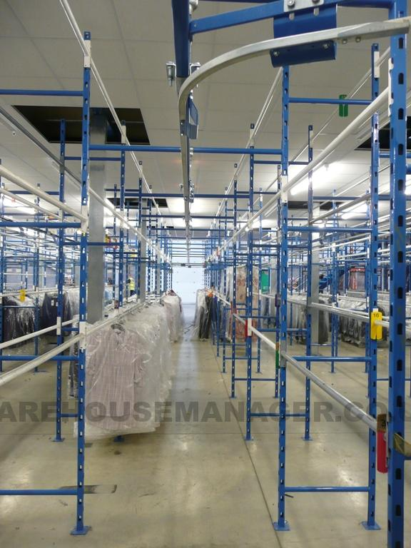 Used MX Garment Racking Systems – UGR040