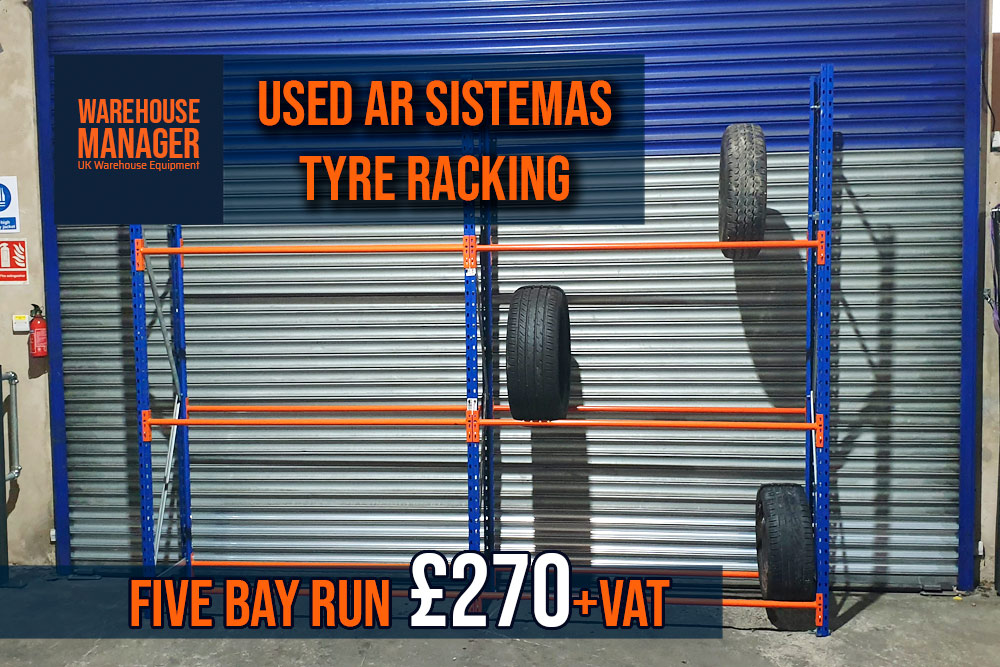Used Tyre Racking – UGR045