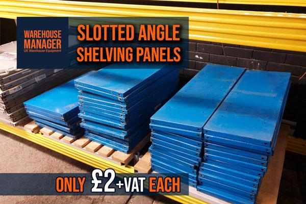 Used Slotted Angle Panels – USH025