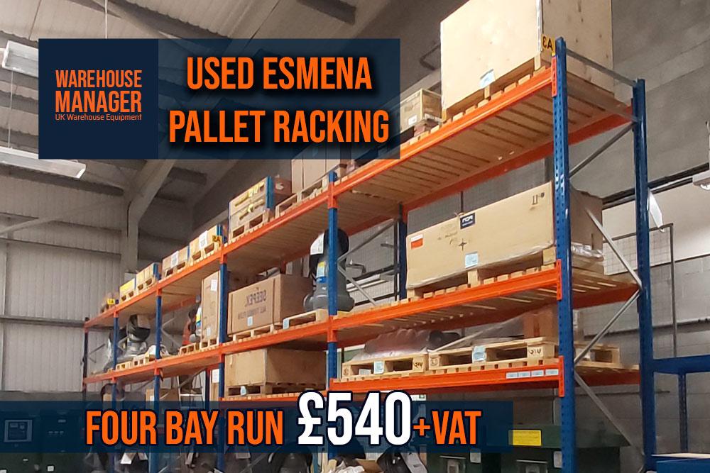 Used Esmena Pallet Racking – UPR065
